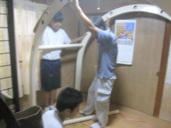 有限会社早川建築~職場体験の様子